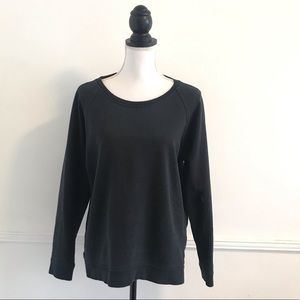Everlane Large Black Crewneck Sweater